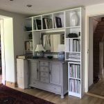Cupboard installation example