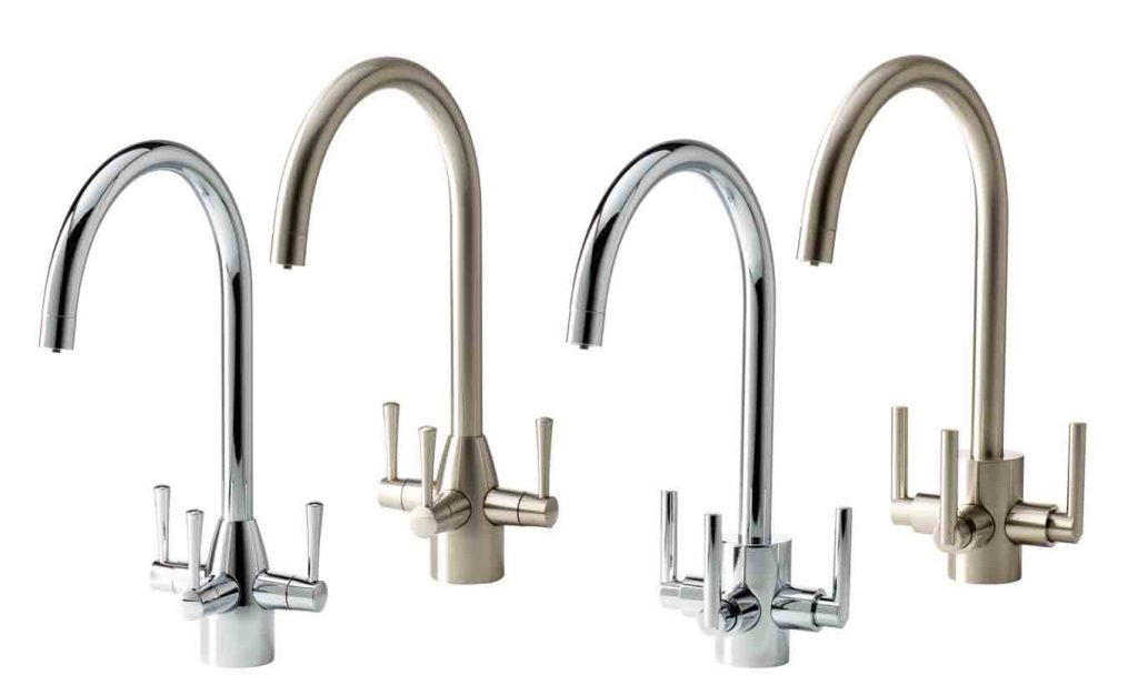 APL soft water three way taps