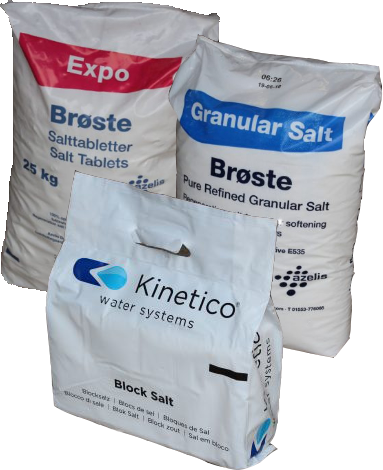 Salt Products available from W.E.Softeners