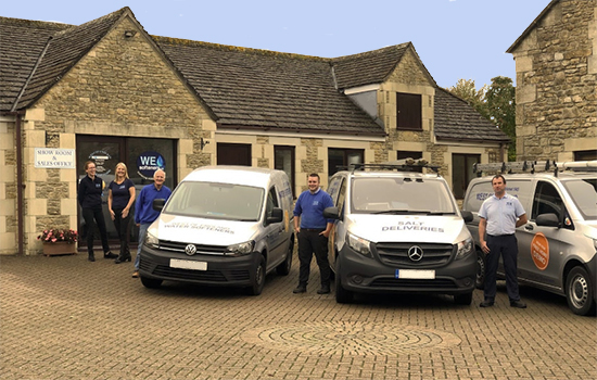 West of England Showroom Staff and Vans