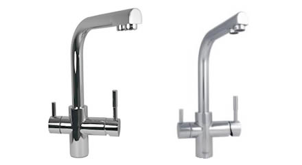 Dual spout Modern Tap Finishes