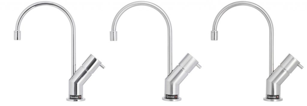 quooker design tap finishes