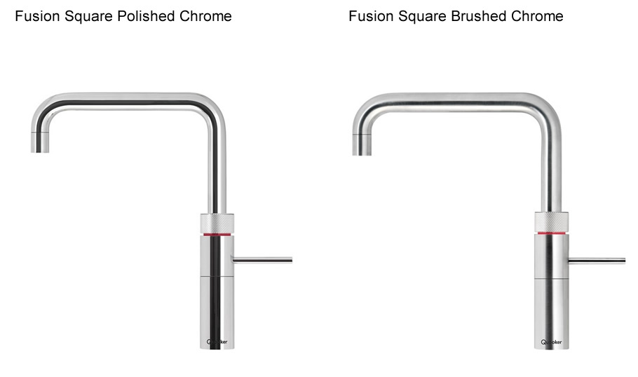Quooker Fusion Square Finishes