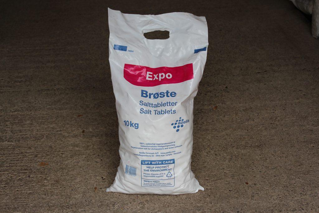 10kg bag of Tablet Salt for water softeners