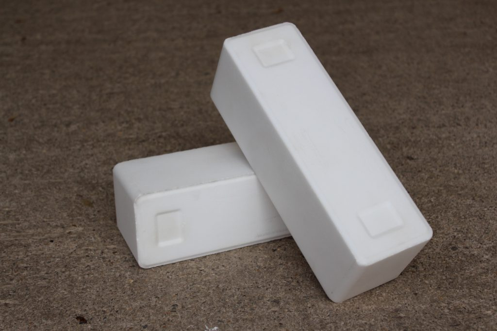 2 blocks of water softener salt
