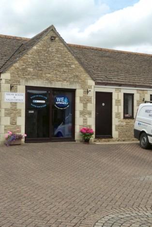 WE Softeners Showroom External